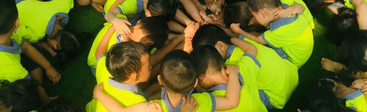 Học sinh trường MG Búp Sen Xanh