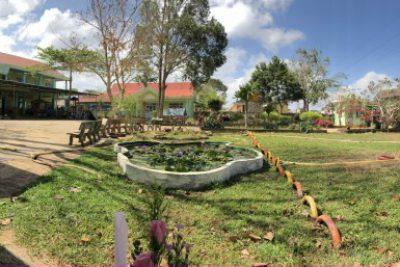 Khuôn viên trường MG Búp Sen Xanh